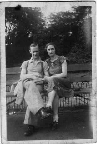 jim and peggy ~ 1936